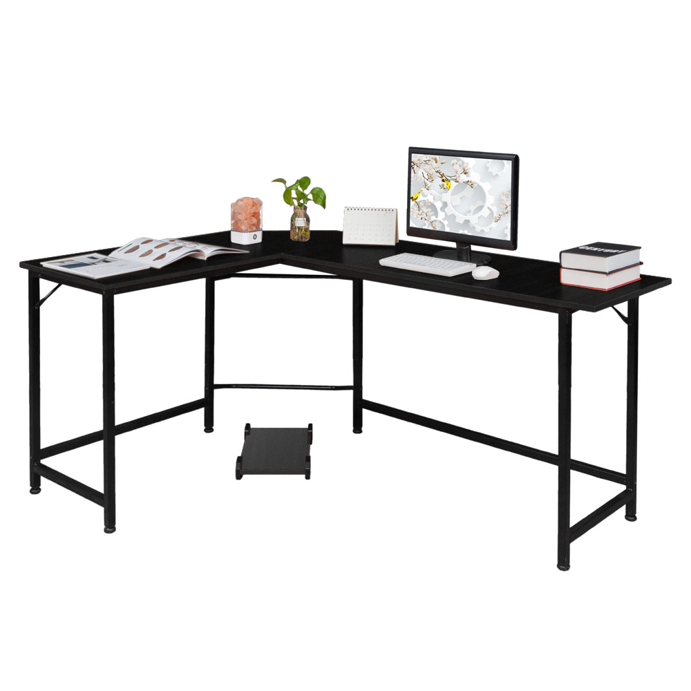 Desk With Keyboard Tray Pc Laptop