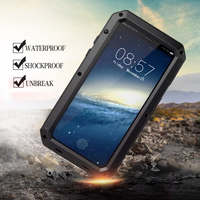 Luxury Shockproof Metal Aluminum Case For Iphone 6s 6 Plus 8 8Plus 7 7Plus X 10