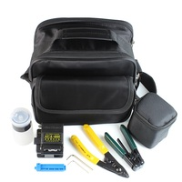 Optial Fiber Cleaver Kit Fiber Optic Strippers and Cleaning Wipes