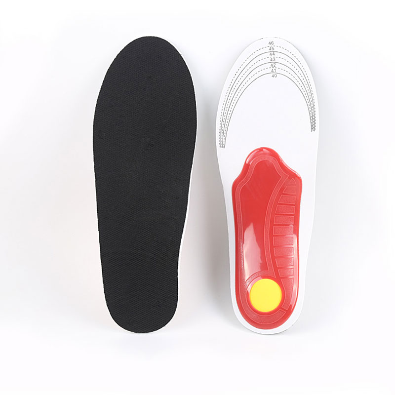 Tcare 1Pair flat feet orthotic insoles arch support orthopedic inserts Plantar Fasciitis,Feet Pain,Pronation for Men and Women