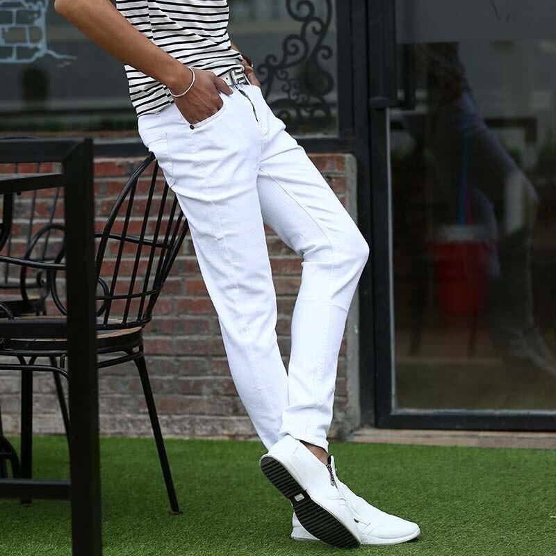 Mcikkny Fashion Men\`s Denim Jeans Pants Slim Fit Casual Denim Trousers Fashion Designer Biker Stretch Jean Joggers For Male (3)