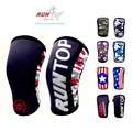 RUNTOP 7mm Neoprene Knee Sleeves Crossfit WODS Squats Weight Lifting Powerlifting Fitness Knee Pad Support Brace Cap Compression