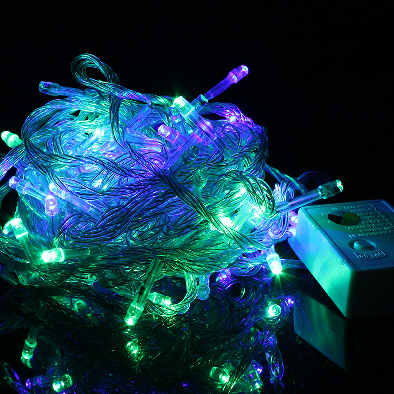 outdoor led string lights christmas 10m 110v 220v led lighting lamp bulb colorful holiday wedding new - Outdoor Led String Lights