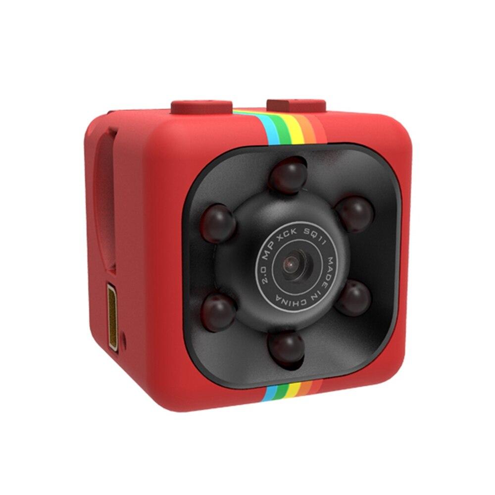 Mini Camera SQ11 HD Camcorder HD Night Vision 1080P Sports Mini DV Video Recorder Mini 8 pin USB 200mAh for Windows Car DVR lc 08 mini dv headphone 1080p hd sport dv bluetooth headset stereo neck strap video recorder