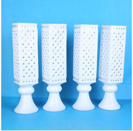 Trompette vase, produits de mariage haut de gamme collant perceuse carré vase ouverture cérémonie décoration articles cit