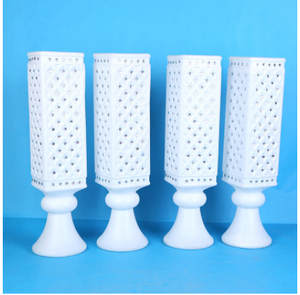 Trumpet Vase Ceremony-Decoration Wedding-Products Sticky Articles Drill Opening High-End