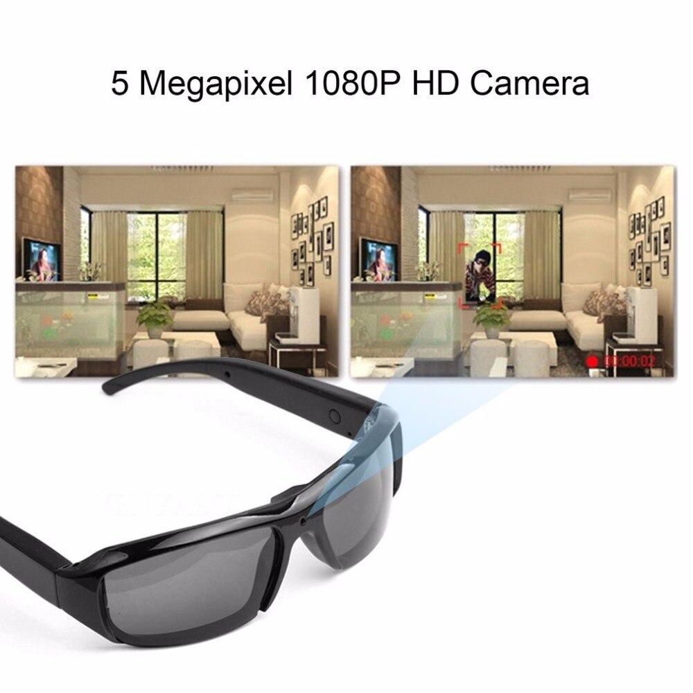 5MP 1080 p Smart Video grabación polarizador gafas de sol al aire libre ciclismo gafas de sol Cámara cámara de seguridad de apoyo TF tarjeta