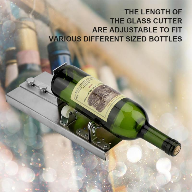 Glass Wine Bottle Cutter Stained Glass Recycles Wine Bottles Cutters Fascinating Stained Glass Wine Bottle Decorations