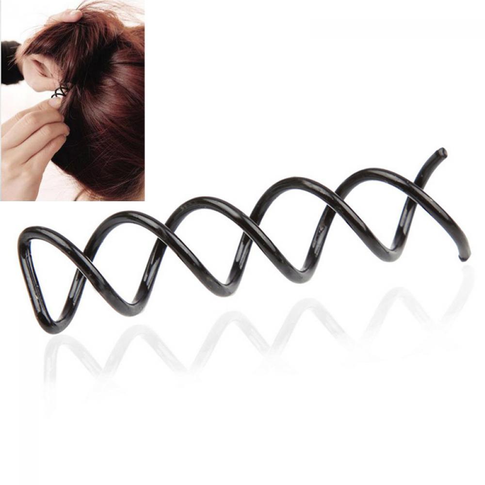 10Pcs Women Spiral Screw Pin Hair Styling Clip Twist Barrette Headwear Fill
