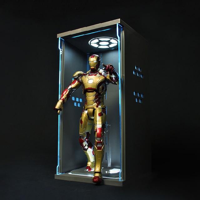 Avenger Union Iron Man Iron Man Model Joint Movable Doll Toys MK42 MK43 Action Figure T54
