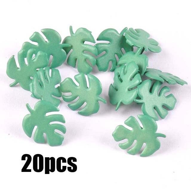 Смешанный узор Круглые Diy штифтики для скрапбукинга, украшение на застежке Брэд металлические изделия для украшения 28 Дизайн выбор cp2241 - Цвет: 14x17mm 20pcs