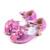 Zapatos de los niños de Cristal Brillante Arco zapatos de Tacón Alto Zapatos de La Princesa Caliente venta Nuevo Niñas Pescado Articulan Las Sandalias de tacón alto para niños
