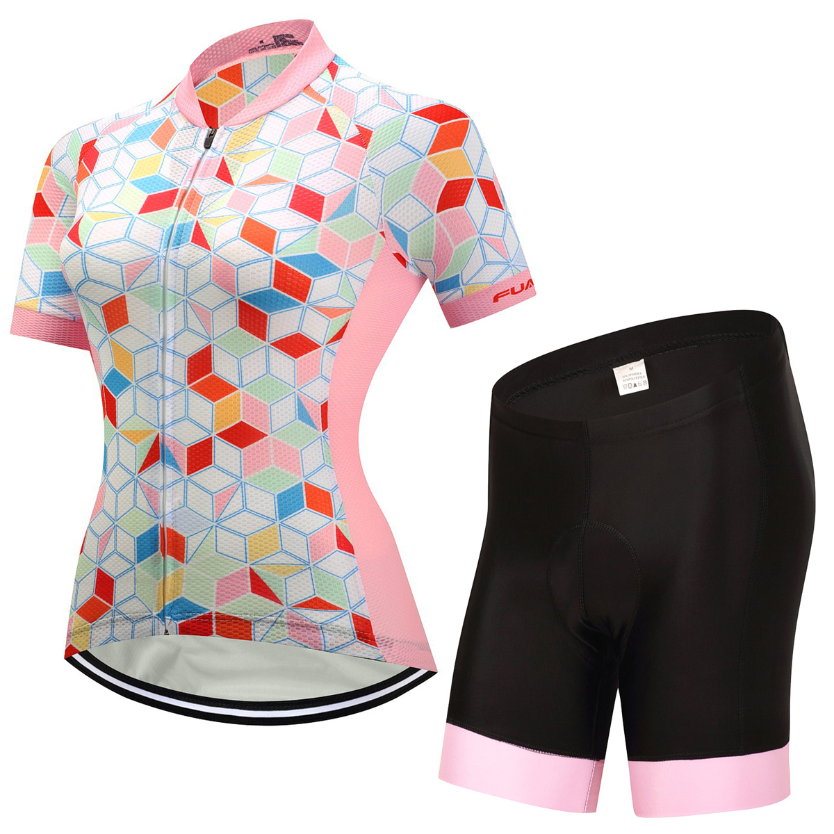New 2017 Women Bike Shirt 100% Polyester Breathable Bicycle Clothes Summer Cycling Sets Short Sleeve Bike Jerseys Clothing