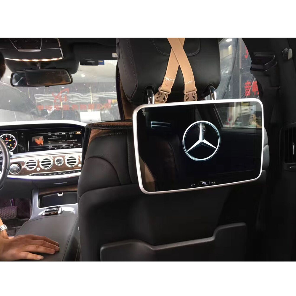 Back of seat dvd player special for mercedes benz headrest for Mercedes benz dvd player