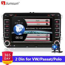 Junsun 7' 2 din Car DVD Radio Player GPS Navigation for VW G