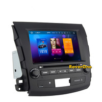 Octa Core Android 8.0 Car DVD Radio for Mitsubishi Outlander XL EX with Stereo GPS Navigation Sat Navi Audio Video Player