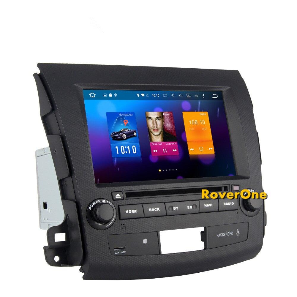 Octa base Android 8.0 DVD de Voiture Radio pour Mitsubishi Outlander XL EX avec Stéréo Navigation GPS Sat Navi Audio Vidéo lecteur