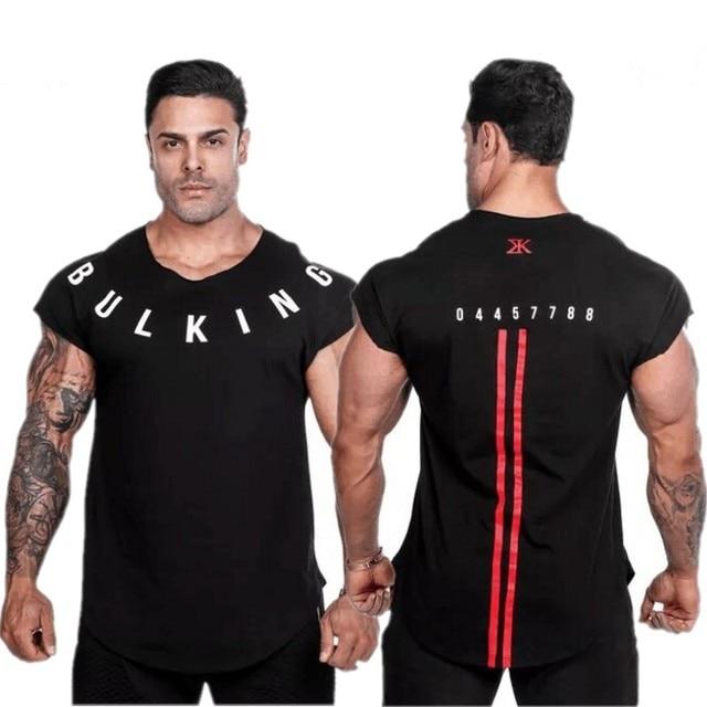 מותג חדרי כושר בגדי כושר גברים גופייה עם ברדס Mens פיתוח גוף Stringers גופיות גופיית אימון ללא שרוולים חולצה