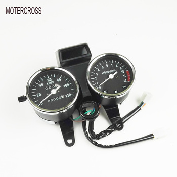MOTERCROSS Motorcycle Motor GN125 Speedometer Tachometer For Suzuki GN125 Instrument Assembly Mechanical File Or Electronic File Мотоцикл