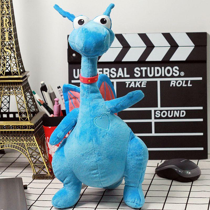 Doc Mcstuffins Stuffy Plush Animals Toys Blue Cute