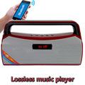 Atacado MACACO \ \ WAV \ MP3 \ WMA Lossless FLAC Leitor de Música Bluetooth Speaker Portátil Mini Rádio FM USB TF Com Microfone de ALTA FIDELIDADE MP3 Player