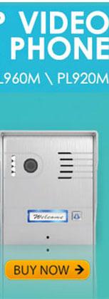 WIFI IP VIDEO DOOR PHONE Aluminum Alloy of Silver color