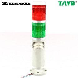 Zusen TB50-2T-D-J sinal vermelho e verde torre luz buzzer