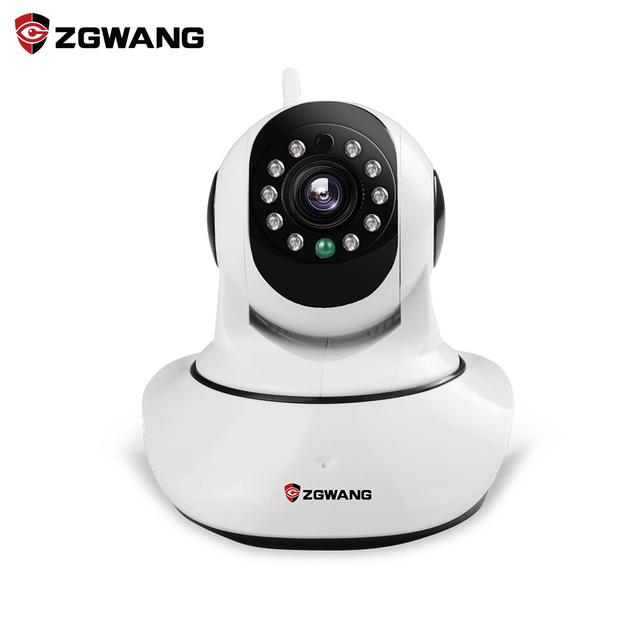Zgwang x6 cámara ip inalámbrica 720 p networkcctv cámara onvif p2p wifi cámara de visión nocturna de vigilancia de seguridad con ir-corte