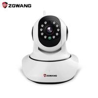 ZGWANG X6 Wireless IP Camera 720P NetworkCCTV Camera Onvif P2P WiFi Surveillance Night Vision Security Camera