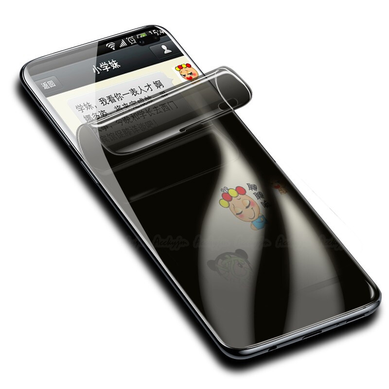 UVR Anti Spy Privacy Hydrogel Film Voor Samsung Galaxy S10e S10 Plus 3D Volledige Cover Screen Protector S10Plus Vingerafdruk Scanner