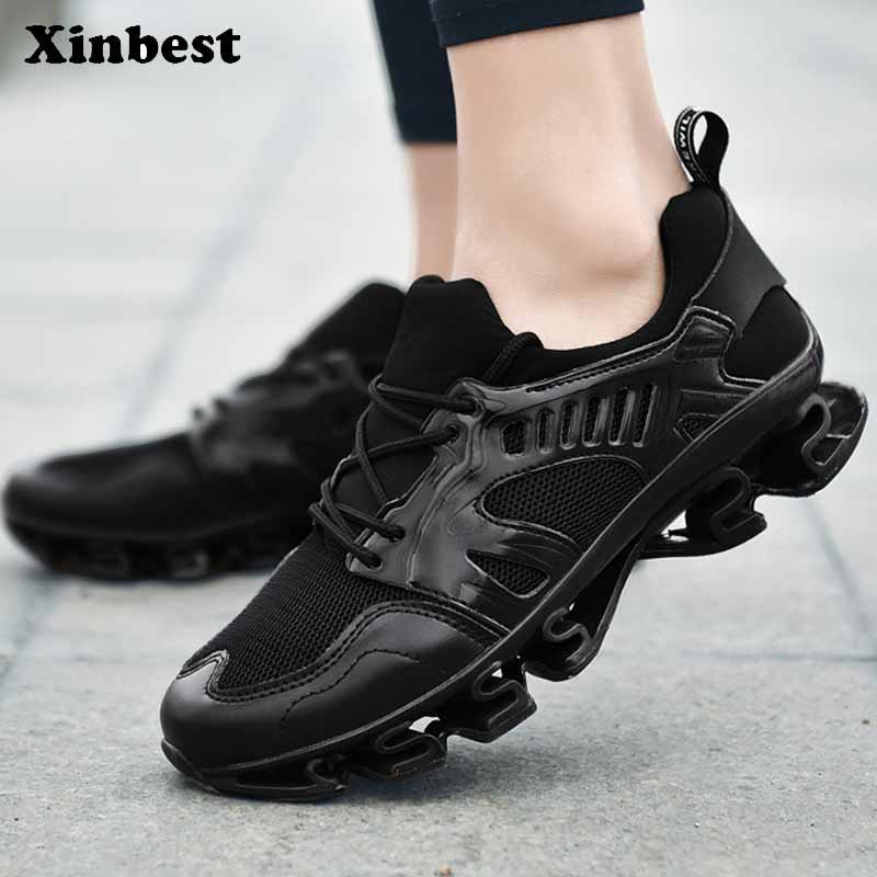 Xinbest New Man Woman Brand Outdoor Athletic Breathable Running Shoes Outdoor Jogging Comfortably Fly line Fabric Sneakers