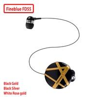 Fineblue FD55 Mini Headset Bluetooth Earphone Portable Fashion Earphones Noise Cancelling Vibration To Remind