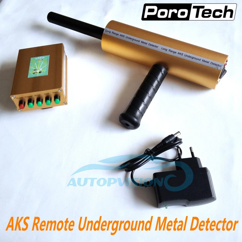 Professional Underground Gold Detector Long Range Gold Diamond Detector AKS 3D Metal Detector Gold Digger