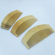 Tooth Peach Curved Shape Of Natural Sandalwood Comb Popular Natural Health Care Comb Anti-static Peach Wood Hair Comb