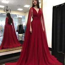 Sexy Party Gala Dress Plus Size African Red Prom Evening Dresses Gown 2019 Long