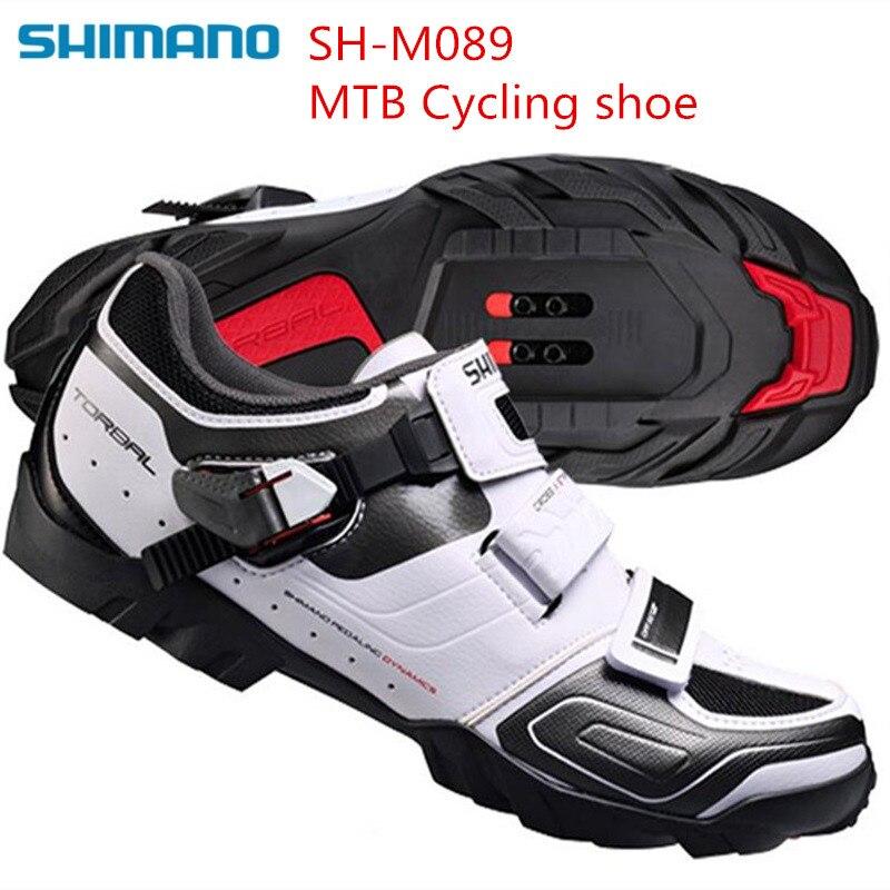 SHIMANO SH M089 SPD Mountain Bike Shoes MTB Riding Equipment Cycling Locking Shoes Racing Breathable Athletic