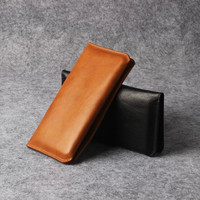 100 Genuine Leather Phone Pouch Case 4 7 6 5 Universal Leather Case For Iphone6 6s