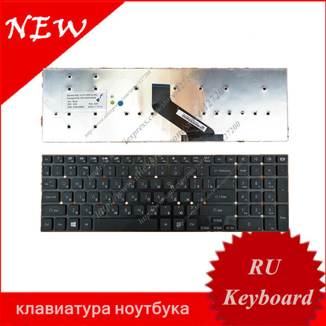 russian keyboard for acer aspire 5830 5830g 5830t 5830tg 5755 5755z