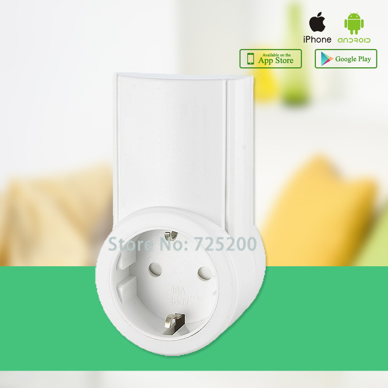 Wireless remote control power socket, smart RF socket,control power for home appliance,compatible with G90B WIFI GSM SMS Alarm remote control smart power socket for wireless security alarm g90b wifi gsm alarm system app control smart home automation