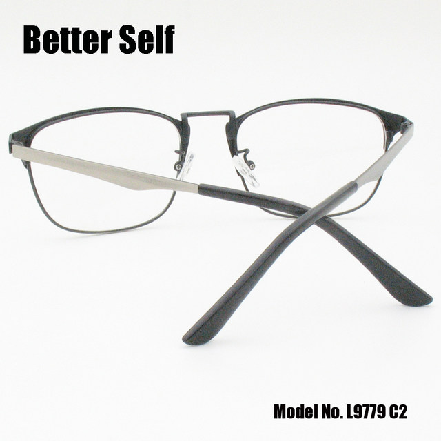 90d8ffaddd9 Online Shop Better Self L9779 Clear Lens Spectacles Metal Square ...