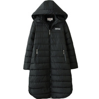 2017 Oversized Women Autumn Winter Long Hooded Parka Coat Woman 3XL 6XL Plus Size Cotton Padded