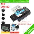 VCK Mobile Universal Battery Charger LCD Indicator Screen For Cell Phone USB Charger universal mobile phone charger