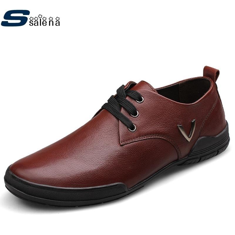 Negócios Moda Dos Homens Tamanho Ue De Calçados Like B167 Picture as Sapatos Oxford Vestem 48 Like As 2017 Para Se Couro Confortáveis Grande ftzqf8n