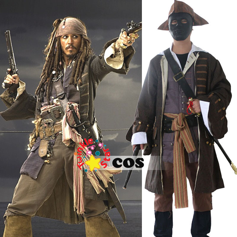 costume adult Jack sparrow