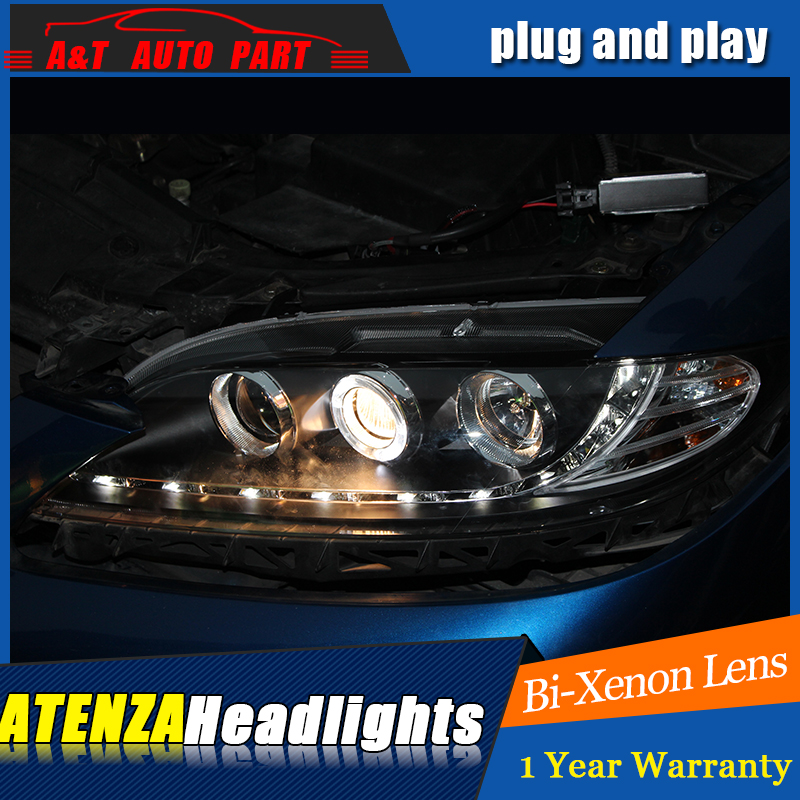 Car styling for mazda 6 headlights drl 2003-2013 for mazda 6 led...