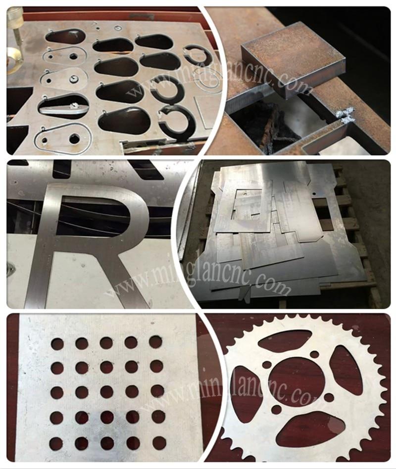 sample of cnc plasma cutting machine