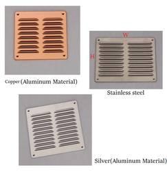 Алюминий вентиляционное отверстие вентилятора решетка Undereave под карниза решетки из нержавеющей стали Медь дождь