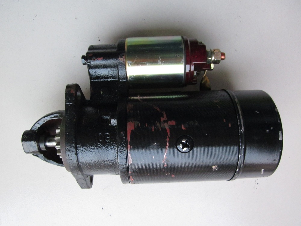 Changchai single cylinder engine L28, the starter motor 24V, Part number: changchai 4g33t engine parts the set of piston rings for one engine use part number 4l88 05000