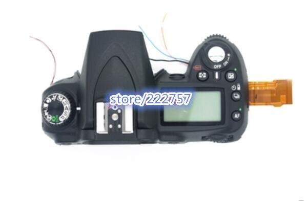 second hand D90 Camera D90 open unit for Nikon D90 top cover with top LCD Camera repair parts tc n3 1 1 lcd camera timer remote controller for nikon d90 d5000
