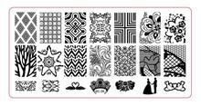 BC-06  Image Plate -1PCS/Lot New Plastic Manicure Template Nail Art Stamping Polish Print Stamper (free ship)